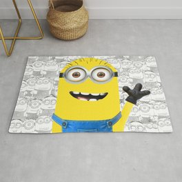 Minion and Friends Rug