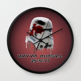 Never Forget (Glactic Basic Edition) Wall Clock