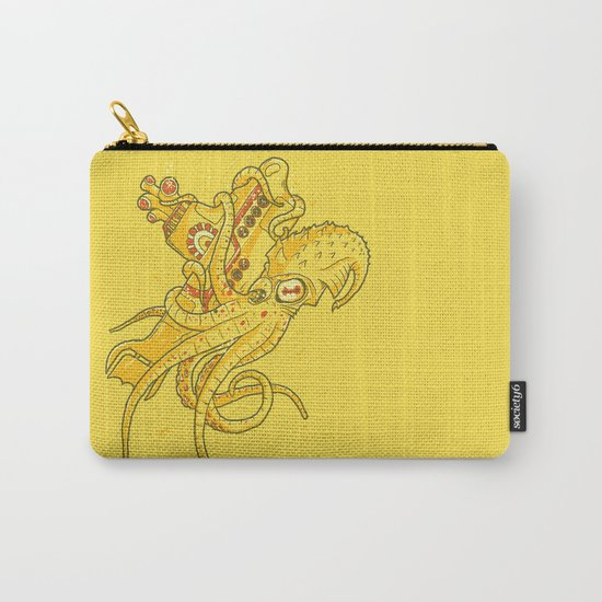 the Yellow Kracken Carry-All Pouch