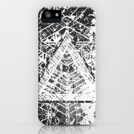 BW BG #01 iPhone Case