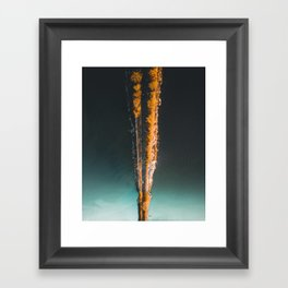 The East Lake Greenway Framed Art Print