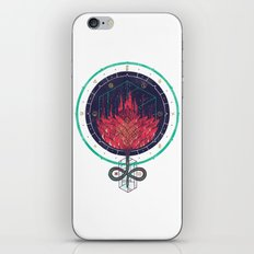 Fading Dahlia iPhone & iPod Skin