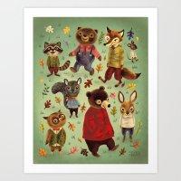 karen Art Prints featuring Autumn by Greg Abbott