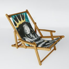 Naturally Queen IX TEAL Sling Chair