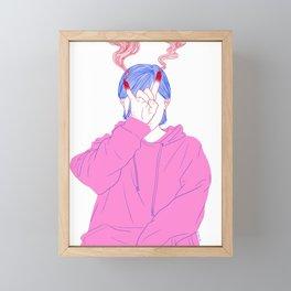 Mess With the Bull Framed Mini Art Print
