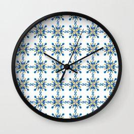 Pattern #38 Wall Clock