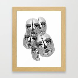 Voices of the River Styx Framed Art Print