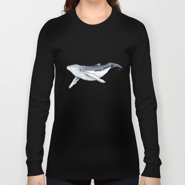 Baby humpback whale (Megaptera novaeangliae) Long Sleeve T-shirt