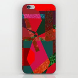 PARTY-COLORED iPhone Skin