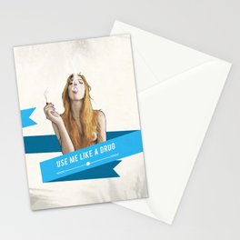 Use Me Like a Drug Stationery Cards