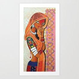 Mohini Art Print