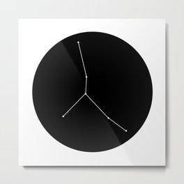 CANCER (MINIMALIST DESIGN) Metal Print