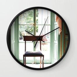 Sit Awhile Wall Clock