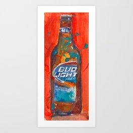 Bud Light Art Print