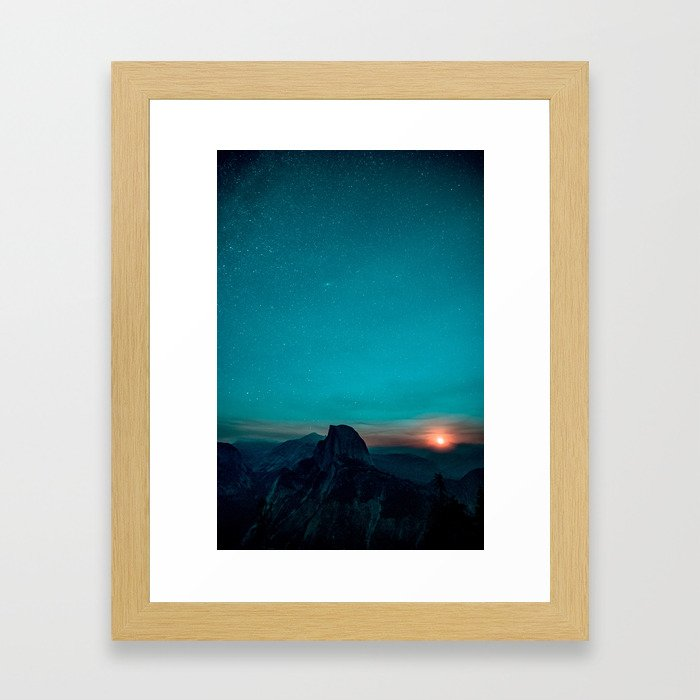 Yosemite Valley, USA #society6 #decor #buyart Framed Art Print