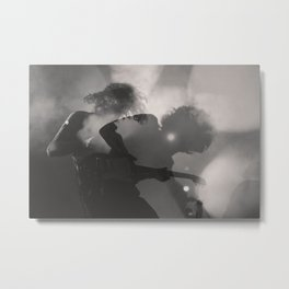 Rock and Roll Steady Metal Print