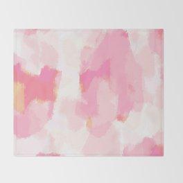 Adonia - blush pink abstract art Decke