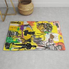 Collage Basquiat Rug