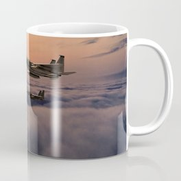 Eagles In Flight Coffee Mug