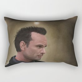Boyd Crowder Rectangular Pillow