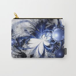 Blizzard - Abstract Fractal Artwork Carry-All Pouch