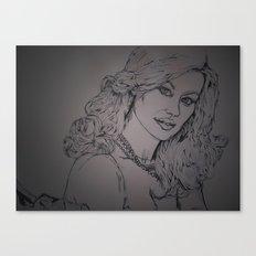 Yvonne Strahovksy ~ Agent: Walker  Canvas Print