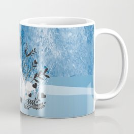 Arctic Fox Family Coffee Mug