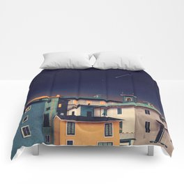 Castles at Night Comforters