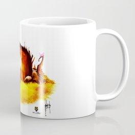 Lazy Frog Coffee Mug