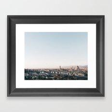 Florence Skyline Framed Art Print