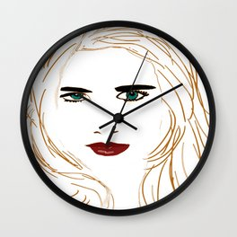 Digital face Wall Clock