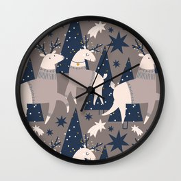 And So It Is Christmas Vol. 2 Wall Clock