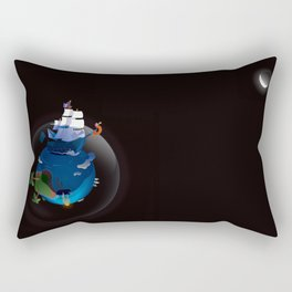 Big Beard Rectangular Pillow