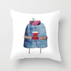 Christmas Coffee! Throw Pillow