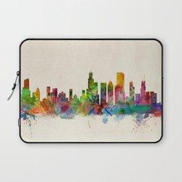 Chicago City Skyline Laptop Sleeve