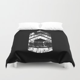 Master Sergeant (weathered) Duvet Cover