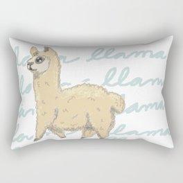 Llama Be My Best Rectangular Pillow