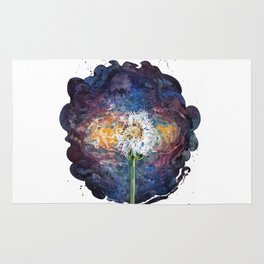 Dandelion of the universe Rug
