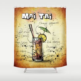 Mai Tai Shower Curtain