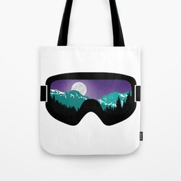 Moonrise Goggles | Goggle Designs | DopeyArt Tote Bag