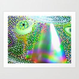 flying eye Art Print