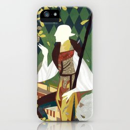 Dragon Age Solas Tarot Paper Art iPhone Case