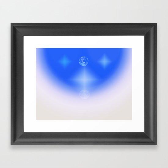 Celestial Harmony Framed Art Print