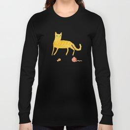 Nice Ginger Cat Long Sleeve T-shirt
