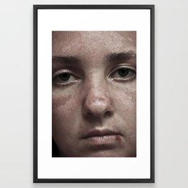 The Point of No Return Framed Art Print