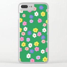 Spring time #5 Clear iPhone Case