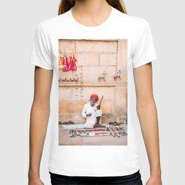Indian Merchant in Jaisalmer, Rajasthan, India   Travel Photography   T-shirt