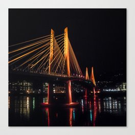 Tilikum Crossing Flooded with Light Canvas Print
