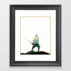 Samuraj Framed Art Print