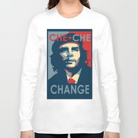 che Long Sleeve T-shirts featuring CHE CHE CHANGE by MDRMDRMDR